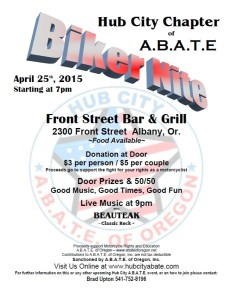 Hub City ABATE Albany Biker Night