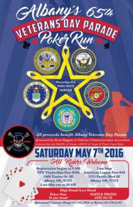 Oregon Motorcycle Awareness Rally poker run flyer